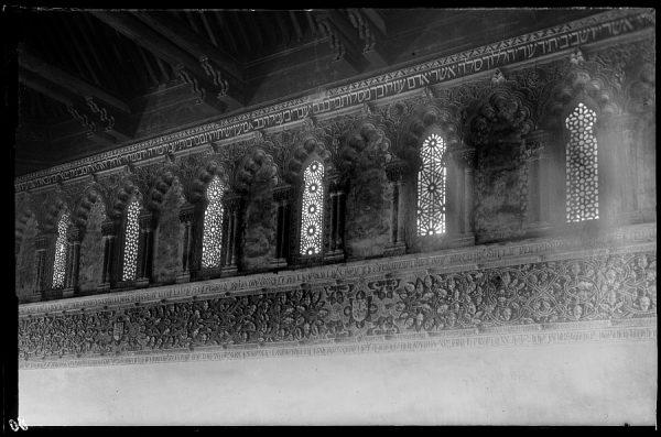 080 - Toledo - Detalle de la Sinagoga del Tránsito