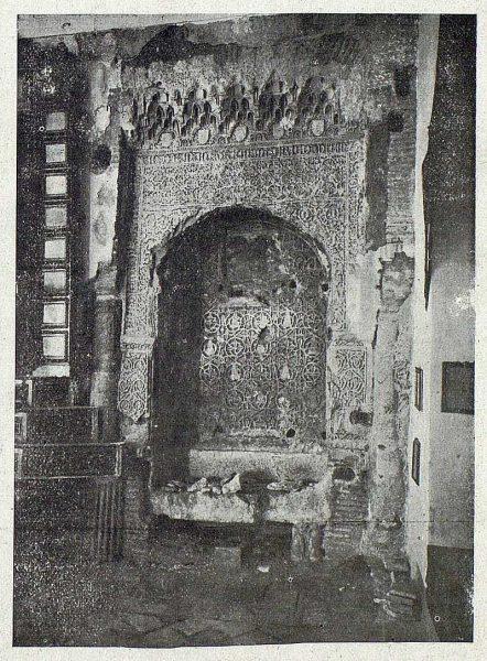 081_TRA-1919-120-Sepulcro mudéjar de la Iglesia de San Andrés