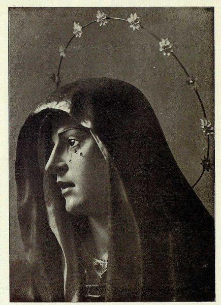 083_TRA-1927-242-La Dolorosa, de perfil, , iglesia de San Andrés-Foto Rodríguez