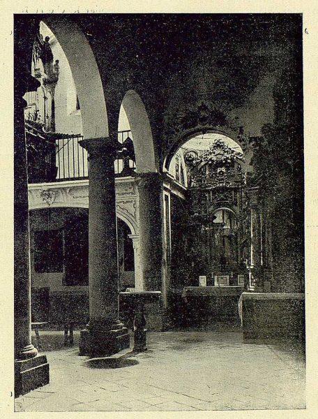 085_TRA-1930-279-Iglesia de San Andrés, interior-Foto Clavería
