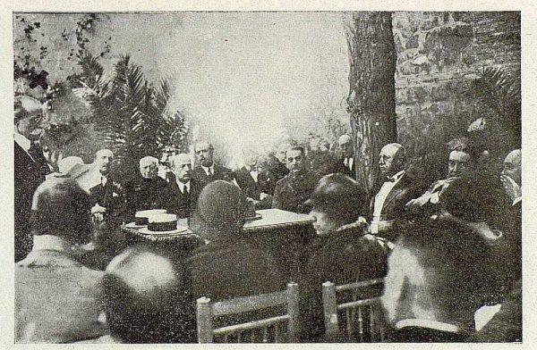 0865_TRA-1929-269-Exposición Regional de Bellas Artes e Industrias, Sinagoga de Santa María la Blanca, discurso de la inauguración-Foto Rodríguez