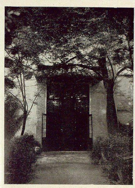 0871_TRA-1929-269-Exposición Regional de Bellas Artes e Industrias, Sinagoga de Santa María la Blanca, entrada a la Exposición-02-Foto Rodríguez