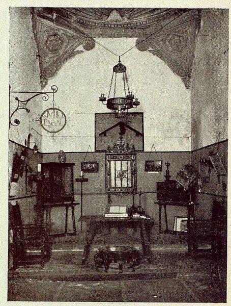 0874_TRA-1929-269-Exposición Regional de Bellas Artes e Industrias, Sinagoga de Santa María la Blanca, hierros artísticos-Foto Rodríguez