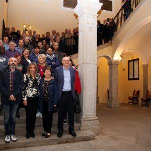 a alcaldesa recibe a delegados sindicales de Artes Gráficas que celebran en Toledo su conferencia mundial y europea