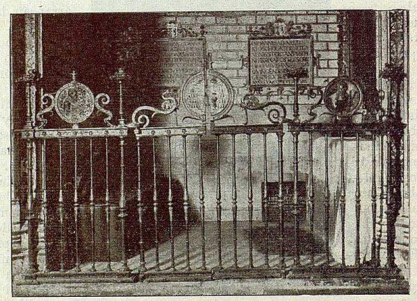 092_TRA-1921-174-La Casona del Conde de Cedillo en Toledo, rejas del oratorio