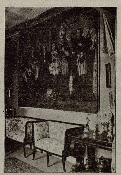 093_TRA-1921-174-La Casona del Conde de Cedillo en Toledo, salón de los Cornejos