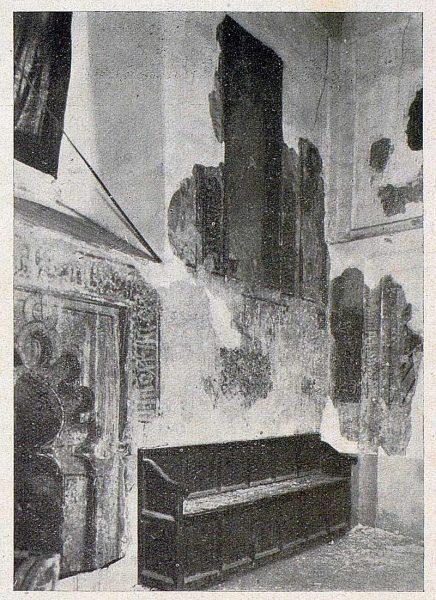 094_TRA-1930-283-284-Iglesia de San Román, pinturas-Foto Toledo