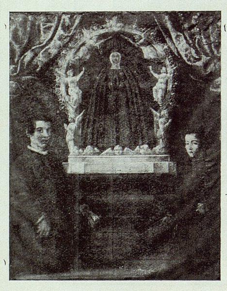 0953_TRA-1924-205-Cuadro antiguo de la Virgen del Sagrario-Foto Román