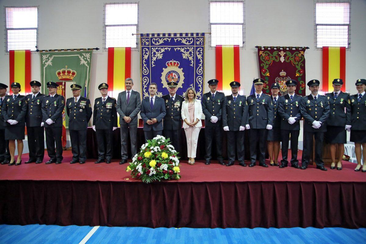 http://www.toledo.es/wp-content/uploads/2019/10/09_dia_policia_naciona-1200x800.jpg. Milagros Tolón participa en el acto institucional de conmemoración de los Santos Ángeles Custodios, patrón de la Policía Nacional