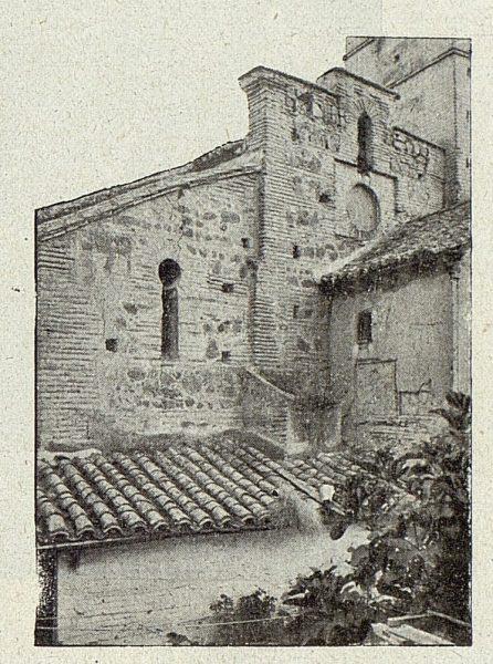 105_TRA-1918-098-Iglesia de San Sebastián, vista exterior del antiguo imafronte