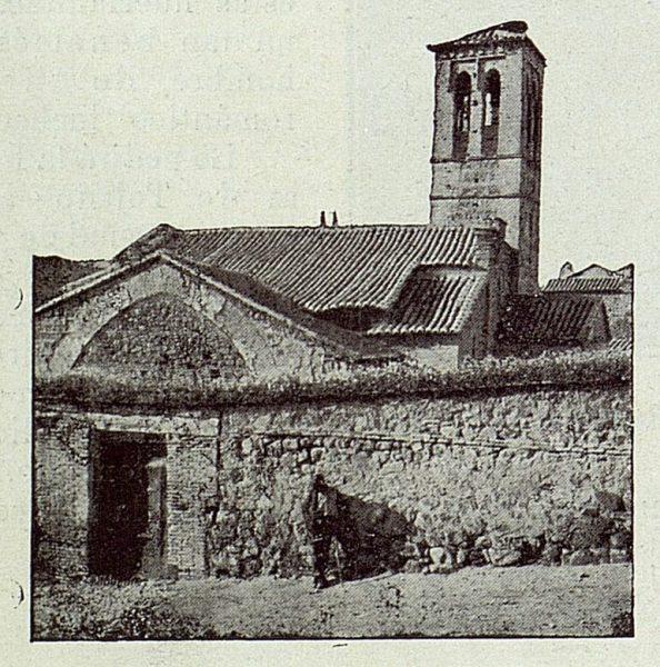 106_TRA-1922-179-Iglesia de San Sebastián, fachada este