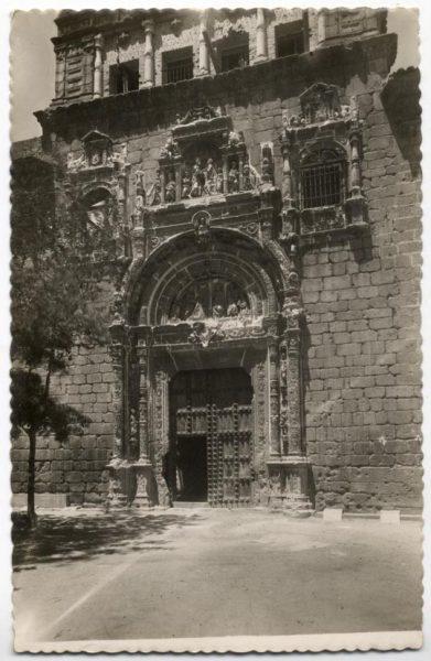 107 - Toledo - Portada de Santa Cruz