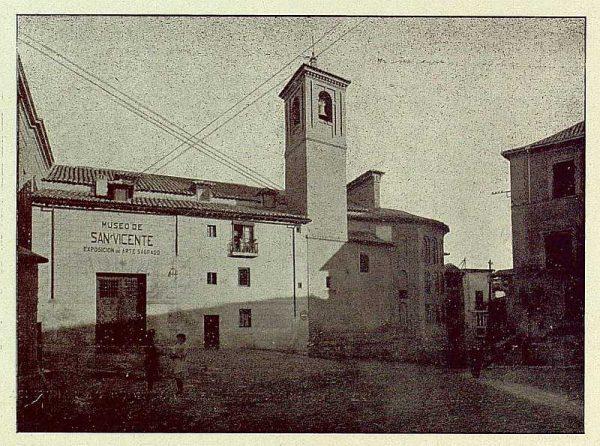 108_TRA-1929-273-Museo de San Vicente, exterior-Foto Rodríguez