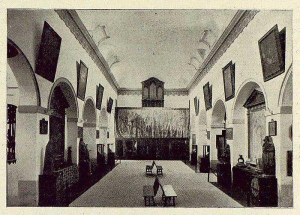 109_TRA-1929-273-Museo de San Vicente, interior-Foto Rodríguez