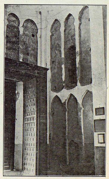 114_TRA-1922-179-Iglesia de Santiago del Arrabal, descubrimientos de Ramírez de Arellano
