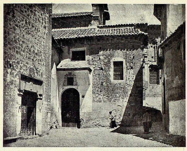 122_TRA-1926-233-San Juan de la Penitencia y San Justo (trasera)-Foto Clavería