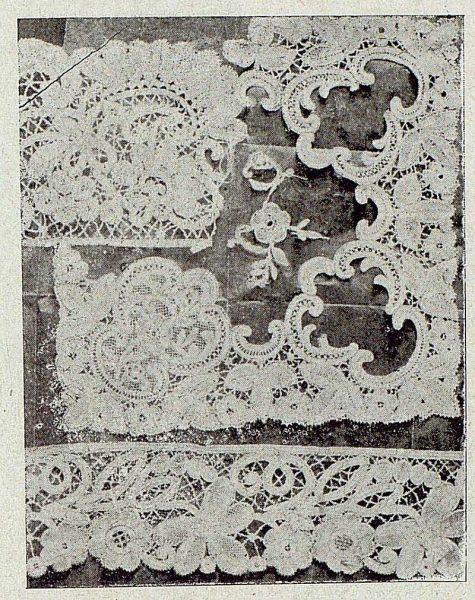 123_TRA-1921-164-Escuela de Artes y Oficios, encaje de Duquesa-Foto Rodríguez