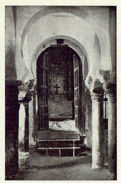 125_TRA-1923-193-Mezquita del Cristo de la Luz, interior-Foto Comendador