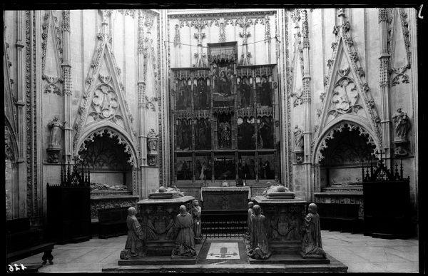 126 - Toledo - Catedral. Capilla de Santiago