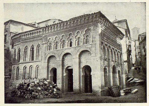 129_TRA-1925-218-Mezquita del Cristo de la Luz, lateral