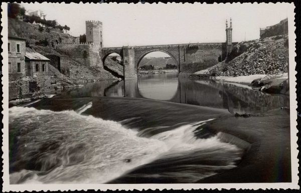 13 - 1958-06-00 - 062_2 -Toledo - Puente de Alcántara sobre el Tajo