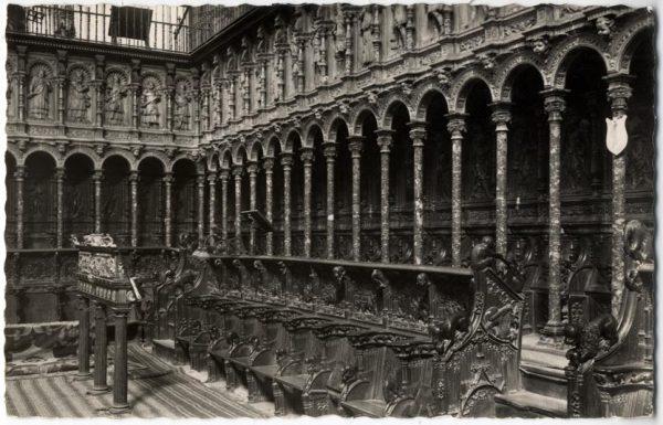 133 - Toledo - Catedral. Coro. Siglos XV y XVI