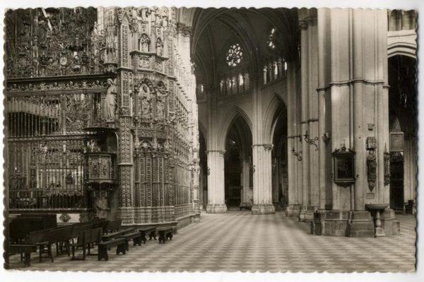 135 - Toledo - Catedral. Lateral de la Epístola