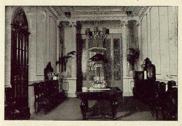 137_TRA-1921-173-Palacio arzobispal, uno de los comedores