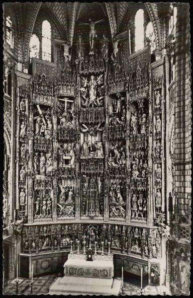 143 - Toledo - Catedral. Retablo del Altar Mayor. Siglo XVI