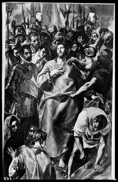 145 - Toledo - Catedral. El Expolio de Jesús (El Greco). Siglo XVI