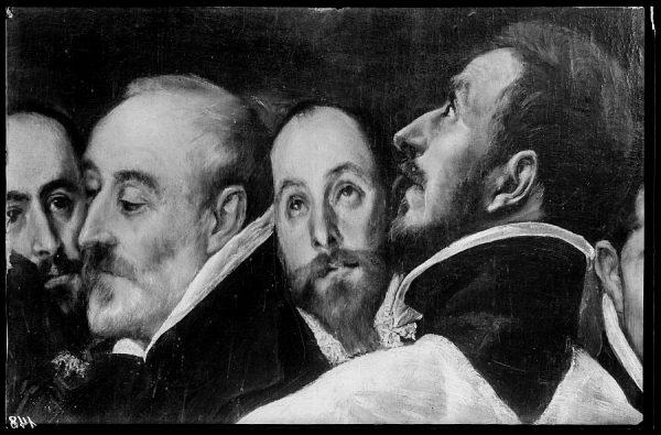 148 - Toledo - Entierro del Conde de Orgaz. Don Antonio Covarrubias y don Pedro Ruiz Duro (El Greco)