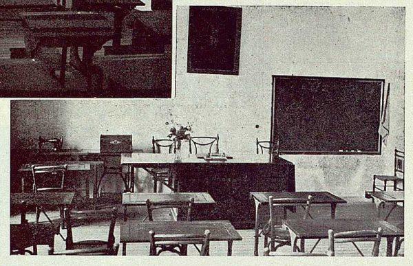 148_TRA-1923-194-Escuela Normal de Maestras, clase de labores-Foto Rodríguez