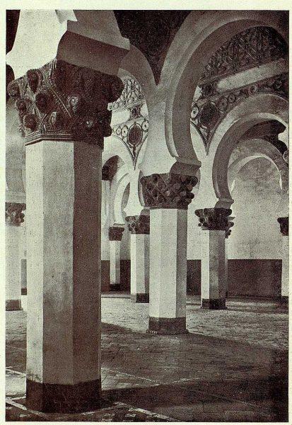 150_TRA-1928-253-Sinagoga de Santa María la Blanca-01-Foto Clavería