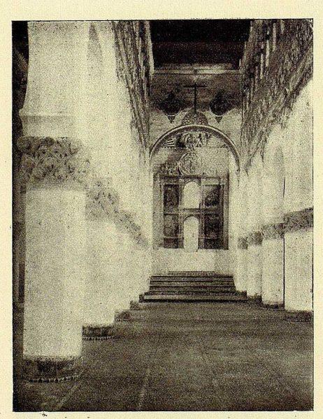 155_TRA-1928-262-Sinagoga de Santa María la Blanca, nave lateral-01-Foto Román