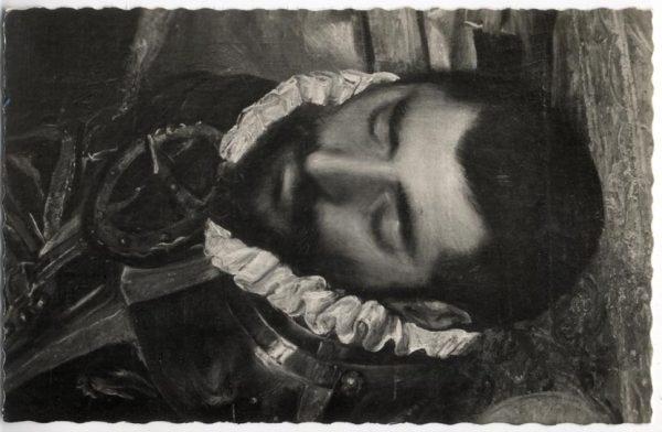 159 - Toledo - Entierro del Conde de Orgaz. Cabeza del Conde de Orgaz (El Greco)