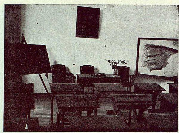 159_TRA-1923-194-Escuela Normal de Maestras, una clase de letras- Foto Rodríguez