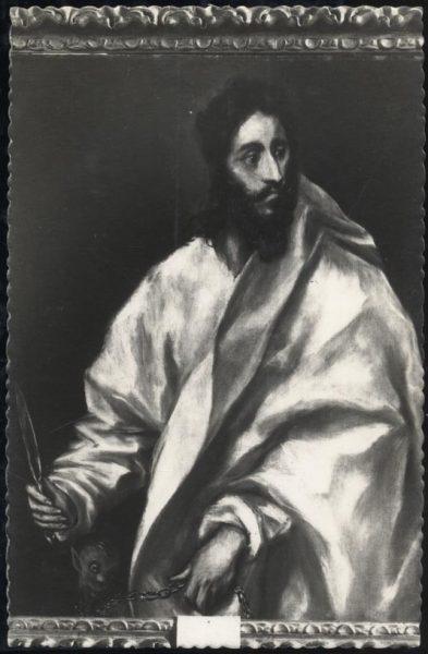 16 - 048 - Toledo - Museo del Greco. San Bartolomé (Greco)