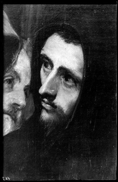 167 - Toledo - Entierro del Conde de Orgaz. Fraile Franciscano (El Greco)