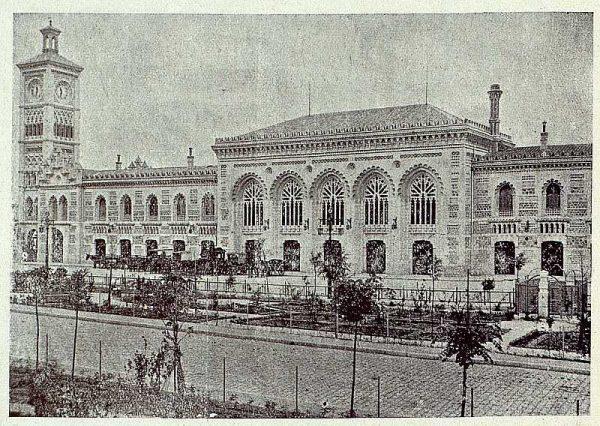 171_TRA-1920-145-Estación, fachada principal