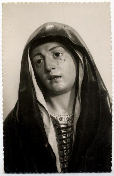 174 - Toledo - Museo de San Vicente. Dolorosa atribuida a Pedro de Mena