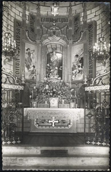 1958-06-00 - 045 - Toledo - Altar de Nuestra Señora del Valle