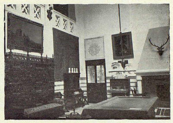 233_TRA-1922-188-El Sotillo, detalle del zaguán-Foto Rodríguez