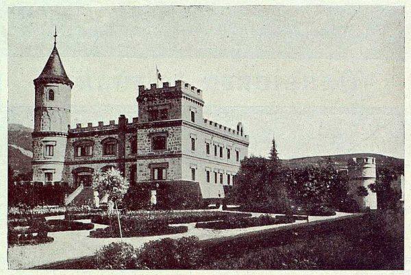 236_TRA-1922-188-El Sotillo, fachadas al jardín-Foto Rodríguez