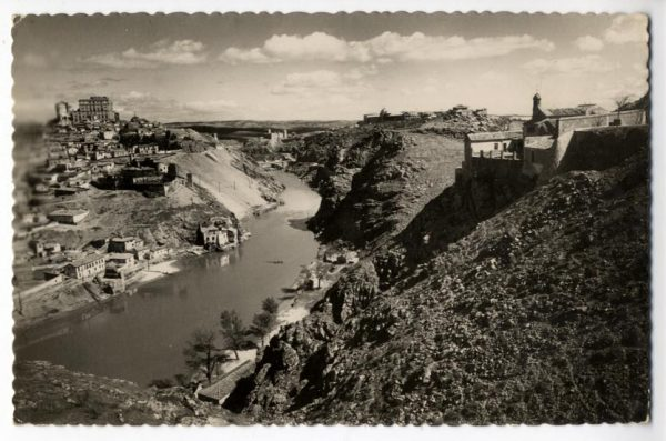 24 - 1952-11-00 - 118 - Toledo - Ermita de la Virgen del Valle y río Tajo