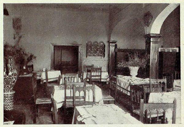 241_TRA-1928-256-Hospedería para artistas, comedor-Foto Rodríguez