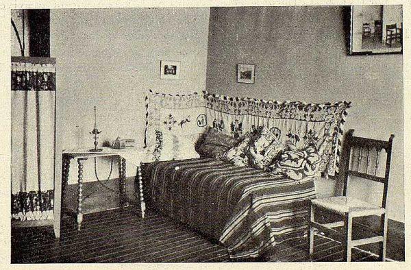242_TRA-1928-256-Hospedería para artistas, cuarto-Foto Rodríguez