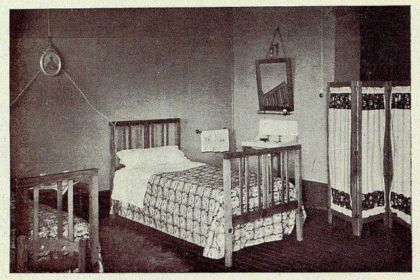 243_TRA-1928-256-Hospedería para artistas, dormitorio-Foto Rodríguez
