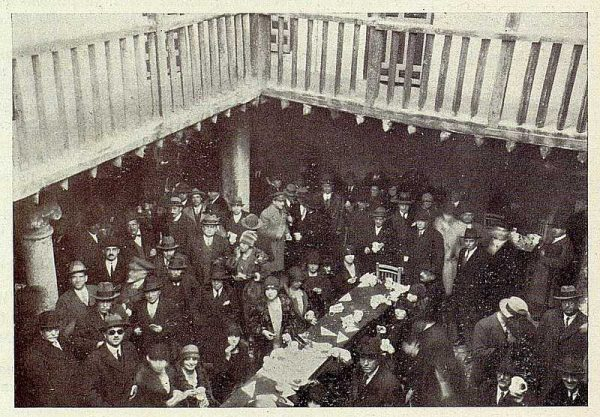 247_TRA-1928-256-Inauguración de la Hospedería del Artista, refrigerio en la Posada de la Sangre-Foto Rodríguez