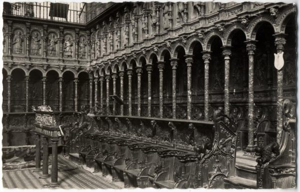 25 - 133 - Toledo - Catedral. Coro. Siglos XV y XVI