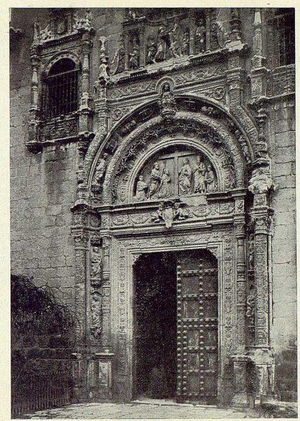 255_TRA-1924-209-Hospital de Santa Cruz, portada-Foto Clavería